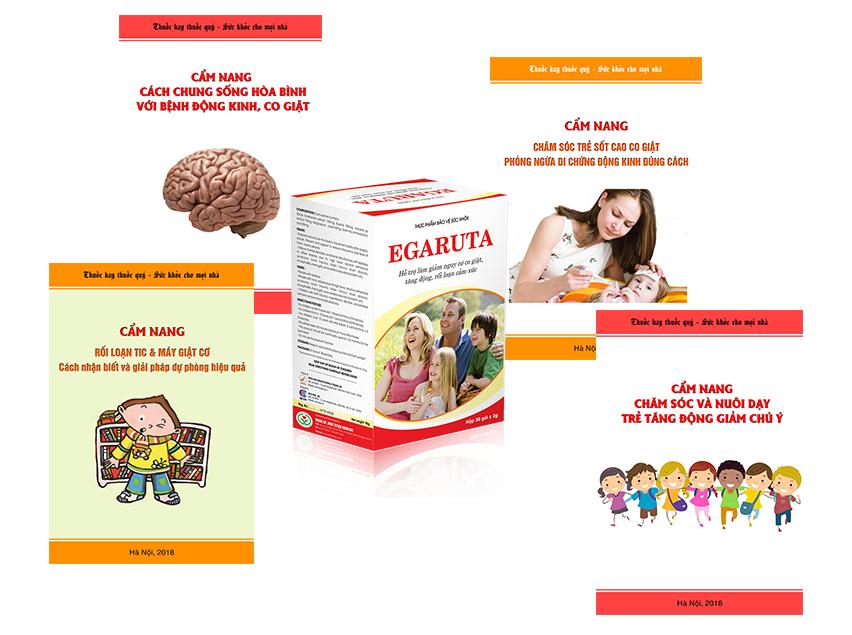 Khi mua cốm Egaruta bạn sẽ được tặng kèm 1 cuốn cẩm nang chăm sóc sức khỏe